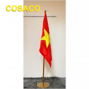 cờ văn phòng mạ vàng
