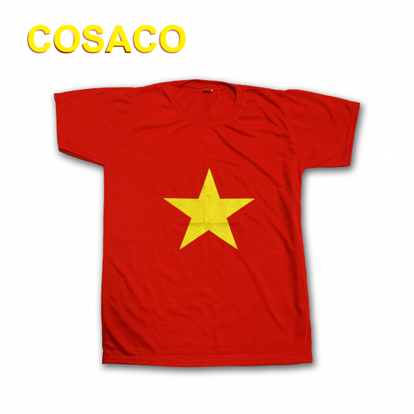 áo thun cờ đỏ sao vàng